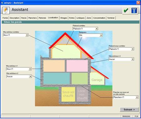WinPTZ  - Diagnostics �nerg�tiques des logements