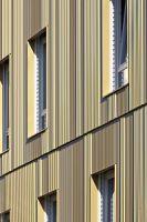 Zoom sur la façade aluminium LOOK BUILDING