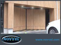 Novvel, la porte pliante automatique