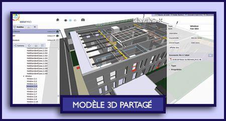 Collaborez autour de la maquette numérique et organiser vos projets BIM en toute simplicité !