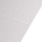 Les plafonds démontables - Gamme Knauf Danoline - Unity 3 - Plafond démontable perforation continue