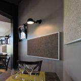 Îlot et baffle murale - Organic Sound - Forme rectangulaire ou carrée