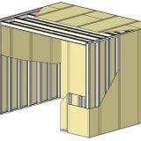 Cloisons et plafond autoportants EI - Boîte dans la boîte - Système constructif autoporteur