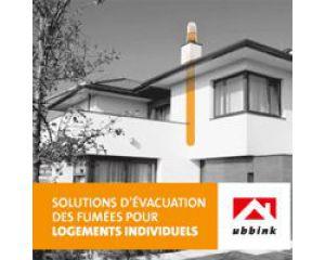Chaudières à condensation : Ubbink a votre solution !