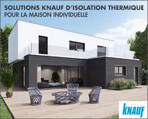 Solutions d'isolation pour maison individuelle