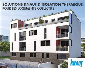 Solutions d'isolation pour logement collectif